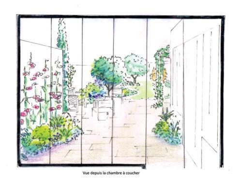 Création d'un petit jardin de bord de mer aux Sables d'Olonne